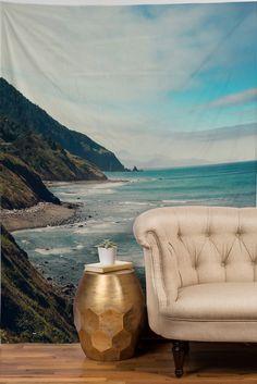#takeushere #love Catherine McDonald California Pacific Coast Highway Tapestry