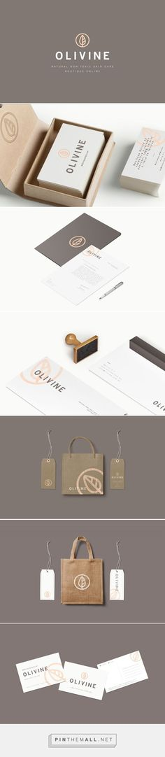 OLIVINE on Behance | Fivestar Branding – Design and Branding Agency & Inspiration Gallery http://jrstudioweb.com/diseno-grafico/diseno-de-logotipos/