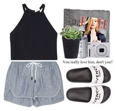 """""""- No problem -"""" by lolgenie ❤ liked on Polyvore featuring Acne Studios, rag & bone, A.L.C., Givenchy and Nikon"""