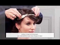 Tutorial capelli: chignon arrotolato chic - YouTube