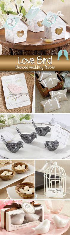 75 Amazing Love Birds Themed Wedding Favors