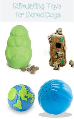 Dogs get bored rather quickly and can get destructive if that boredom isn't cured fast. Here are some of the best stimulating toys for bored dogs.
