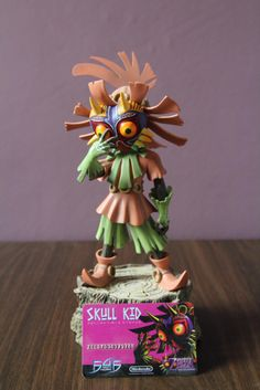 First for Figures - Skull Kid fig, by french fan Aya Shin | #F4F #Skullkid #Majora
