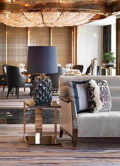 Ritz-Carlton Hong Kong; Refined elegance with an urban living theme weaves a tale of Hong Kong's dynamic contrasts, a bustling metropolis at the crossroads of East and West.