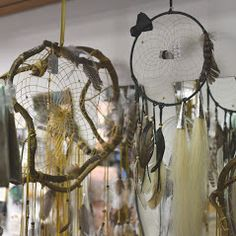 Original indianische Traumfänger aus Kanada mit Pferdehaar bei www.duftoase.ch - Cleopatra's Duft-Oase
