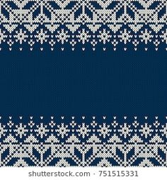 Similar Images, Stock Photos & Vectors of Christmas Sweater Design. Knitting Charts, Knitting Stitches, Knitting Patterns, Print Patterns, Stitch Patterns, Pattern Designs, Christmas Stockings, Christmas Sweaters, New Year Designs