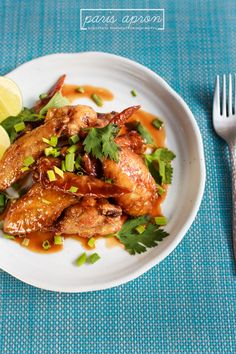 Vietnamese fried chicken wings with fish sauce