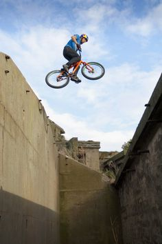 Scotland's Danny Macaskill does things on a bike that most can only dream of! #Biking
