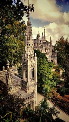 Romantic Palace and Chapel, Quinta da Regaleira, Sintra Portugal | by Pedro C. on 500px