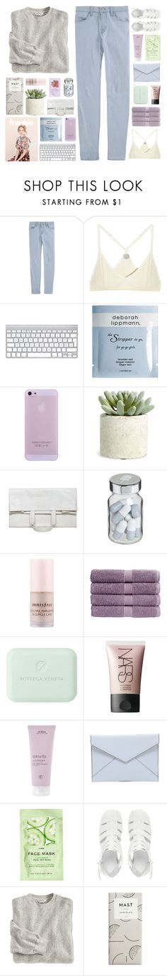 """I'LL BE ALONE, DANCING, YOU KNOW IT BABY"" by sky-fxll-of-stars ❤ liked on Polyvore featuring J Brand, Base Range, Deborah Lippmann, Allstate Floral, Maison Margiela, Vita, Innisfree, Christy, Bottega Veneta and NARS Cosmetics"