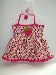 Crochet Easter Dress  http://www.capricecreations.com/