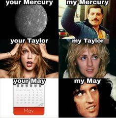 Mine are perfect Queen Photos, Queen Pictures, Queen Art, I Am A Queen, Queen Queen, Bryan May, Queen Meme, Queens Wallpaper, Roger Taylor