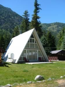 A Frame Style House Near Wallowa Lake, OR. Uniquely Designed. Sleeps 8