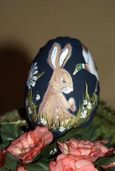 Ręcznie malowane jajka Wielkanocne