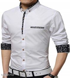 Checkout this latest Shirts Product Name: *New Attractive Men's Shirt* Fabric: Cotton Sleeve Length: Long Sleeves Pattern: Solid Multipack: 1 Sizes: M (Chest Size: 38 in, Length Size: 27 in)  L (Chest Size: 40 in, Length Size: 28 in)  XXL Country of Origin: India Easy Returns Available In Case Of Any Issue   Catalog Rating: ★4 (3042)  Catalog Name: New Attractive Men's Shirt CatalogID_1100266 C70-SC1206 Code: 544-6891713-3411