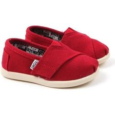 RED baby girl Shoes | Tumblr. Want these for our itty bitty for Christmas.