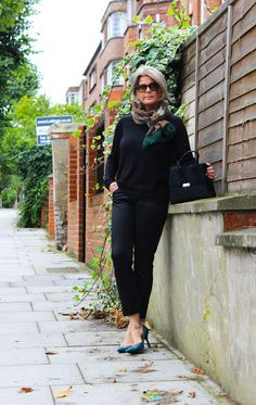 Fashion Adventures At Any Age : Black & Colour