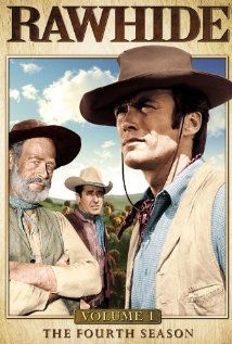 Rawhide is a western  t.v. series that started in Jan. 1959 and lasted for eight seasons.   Starring Clint Eastwood and Eric Fleming.