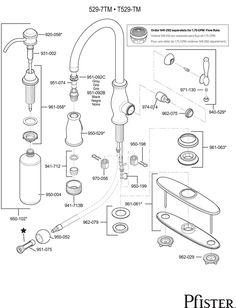 Price Pfister Single Handle Tub and Shower Cartridge 974-042 | Tubs