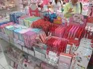Hello Kitty Store!  You know girls love everything in that store!@Amy Burtch This is your personal heaven