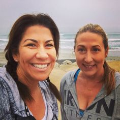 The ocean was calling! My Director of Marketing @dmandreas and I had to answer the call  No matter how busy life and business get don't forget about the importance of self care.  A nice walk in the fresh air will renew your energy