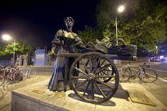 Molly Malone statue, Dublin, Ireland - Jim Zuckerman