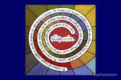 """Irresistible y exclusivo #Cuadro """"Namasté"""" pintado a mano en Vivos y Alegres Colores. Ideal para la decoración de cualquier lugar, ya que desprenden por su propia simbología #Alegría y #Energía #Positiva el espacio en el que se encuentre. + info en web. Dimensiones: * 55 x 55 cm * Alto: 5 cm. * Peso: 2,8 kg. #Arte #Luz #Color # Amor #Meditación #Paz #Armonía #relajación #creatividad #serenidad #unidad #decoración #espiritual #ArteSano #Diseño #exclusivo #Namaste"""