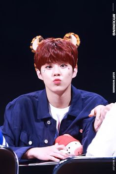 """""""160521 UP10TION Ilsan Fansigning Wooshin Cr: 우리신이 """" Do not edit"""