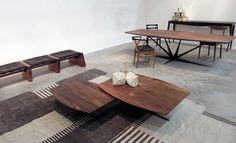 Galeria Mexicana de Diseño from Mexico City showcased a collection by Telharmonium for Fabrica México, designed specifically for Design Days Dubai