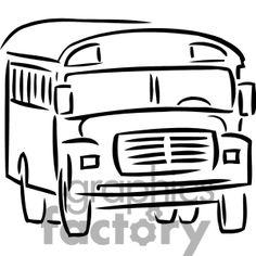 School Bus Outline Clipart Home Design Ideas dokity.