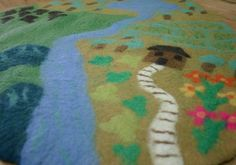 Felt playmat for imaginative play from Eco Toys