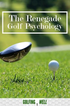 Golf Swing Drills The renegade golf psychology can help you play better golf and enjoy the game again. Golf can really be a mind game. You get too much going on in your head and your golf swing is a wreck. Here's a way to beat the mental side of golf. Golf Instructors, Golf Score, Golf Putting Tips, Wii Sports, Golf Chipping, Golf Exercises, Golf Tips For Beginners, Golf Training, Golf Lessons