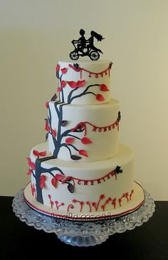 Love this cake...and the topper!