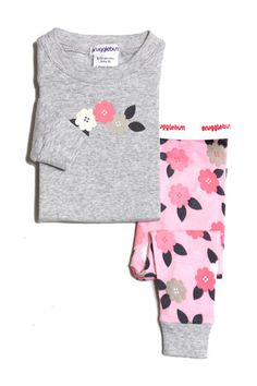 Snugglebum long john Contemporary floral | fashion deli children's clothing & accessories