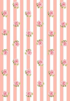 papel para decoupage - Google'da Ara Kawaii Wallpaper, Flower Wallpaper, Pattern Wallpaper, Vintage Diy, Vintage Paper, Flower Backgrounds, Wallpaper Backgrounds, Iphone Wallpaper, Printable Scrapbook Paper