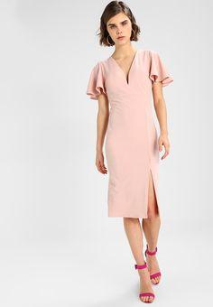 7dd2e6fec9 CAP SLEEVE DRESS - Sukienka koktajlowa - blush pink   Zalando.pl 🛒