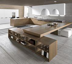 Fancy - Sleek Modern Timber Kitchen Design