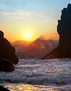 Baker Beach, San Fransisco, California (travel, wanderlust, sunshine state, summer, coast, places to live)