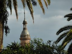 If you would like a nice walk and a quiet place to take a break, check out the Christopher Columbus Monument and walk along Paseo de Catalina de Riber. Seville Spain, Christopher Columbus, Take A Break, Plaza, Statue Of Liberty, Travel, Walks, Statue Of Liberty Facts, Viajes