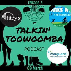Welcome to Ep 3 Toowoomba, we chat to a local pub-owning family, get active for Parks Week, and making a social difference with Vanguard Laundry Services. Local Pubs, Bike Rider, Laundry Service, Episode 3, Ghosts, Famous People, Parks, Your Dog