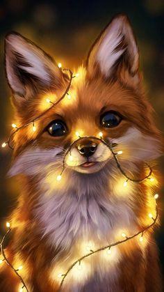 Fox wallpaper by oh_yeah_mrkrabs - aa - Free on ZEDGE™ Baby Animals Super Cute, Cute Wild Animals, Baby Animals Pictures, Cute Baby Dogs, Cute Cartoon Animals, Cute Animal Drawings, Cute Little Animals, Cute Animal Pictures, Cute Drawings