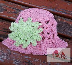 Everywhere I Go Hat pattern by Jennifer Hatch