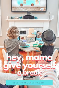 """Parenting has become a lot more hands-on these days, which might pressure moms to do more, schedule more, be more. This is a gentle reminder to give yourself permission to have an """"off"""" day, which might just end up being your kids' favorite day. Single Mom Tips, Working Mom Tips, Hey Mama, Yoga Mom, Organized Mom, Mom Humor, Best Mom, New Moms, Children"""