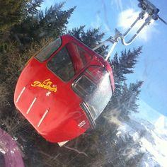 Vintage gondola at Les Diablerets, SwitzerlNd Mini Bus, Ski Lift, Vintage Ski, My Heritage, Three Kids, Switzerland, Trains, Skiing, Places To Go
