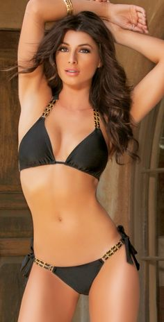 Lady Lux 2014 Tainted Love Black Bikini | Southbeachswimsuits