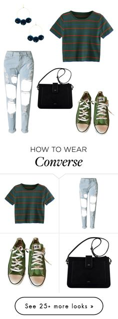 """R"" by susannahbananah on Polyvore featuring Chan Luu, WithChic and Converse"