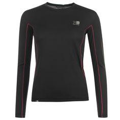 Karrimor | Karrimor Long Sleeves Tech T Shirt Ladies | Ladies Running Clothing