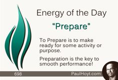 Are you Prepared for the next step in your journey? Could you benefit from some analysis, planning, training, or education before taking action?