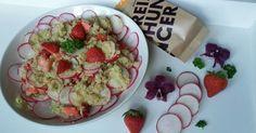 Quinoa Salat ✓ mit Erdbeeren und Radieschen zubereiten ☆ Jetzt nachkochen!