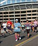 Seattle RollnRoll Half marathon (June 22 2013, I-90 bridge)